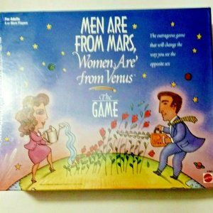 Men Are From Mars Women Are From Venus Board Game